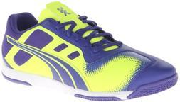 PUMA Men's Nevoa Lite Soccer Shoe,Spectrum Blue/Fluorescent