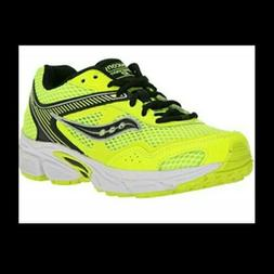 NEW BOYS YELLOW SAUCONY  COHESION 10 RUNNING SHOES SIZE 6 SY
