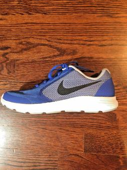 NEW Nike Boys Youth Revolution 3 Running Training Shoes Blue