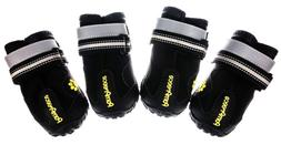 NEW Pompreece Dog Running Shoes Anti Slip Paw Protective Boo