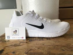 NEW 🔥 Nike Free RN 2018 White/Black Running Shoes Men's