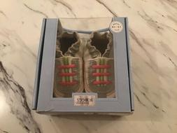 """New In Box Girls Robeez Leather Shoes Size 12-18 Months """"O"""