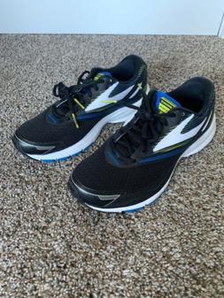 New Brooks Launch 4 Running Shoes Men's Size 9 Black Blue Li