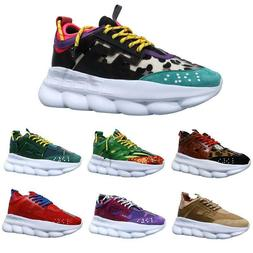New Luxury Ace Chain Reaction Mens shoes Trainers Lightweigh