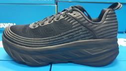 NEW Hoka One One  M Bondi 6 1019269 BBLC - Black Running Sho