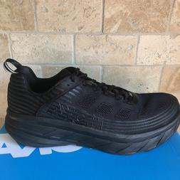 NEW Men  HOKA ONE ONE BONDI 6 Running Shoes BLACK ANTHRACITE