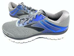 NEW! Brooks Men's Adrenaline GTS 18 Running Shoes Gry/Blu WI