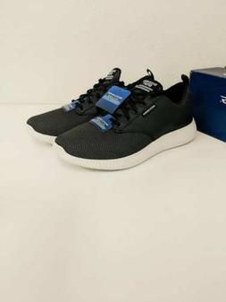 New Men's Skechers Air-Cooled Black / White Walking / Light
