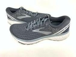 NEW! Brooks Men's Ghost 11 Lace Up Running Shoes Charcoal/Gr