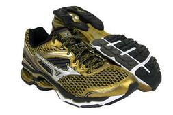 New Men's Mizuno Wave Creation 17 Running Shoes Size 9 Gold