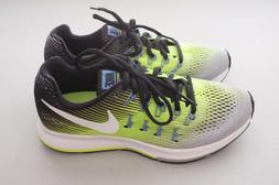 NEW Nike Mens Air Zoom Pegasus 33 Running Shoes Green Silver