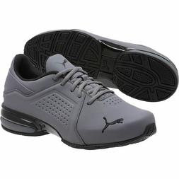 New Mens Puma Viz Runner men's running shoes grey black 1910