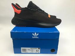 New Adidas Originals Tubular Dusk Shoes Mens Size 12 Black S