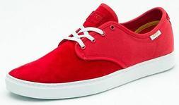 NEW VANS OTW LUDLOW  RED - MEN'S SKATEBOARDING SHOES SIZE 7.