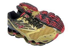 mens mizuno running shoes size 9.5 europe high gold