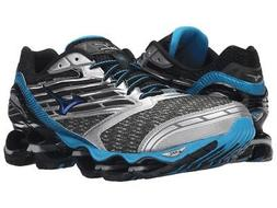 New Mizuno Wave Prophecy 5 Running Shoes Men's Size 9 Gunmet