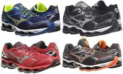 New Mizuno Wave Viper Running Shoes Men's Size 9 Black Blue