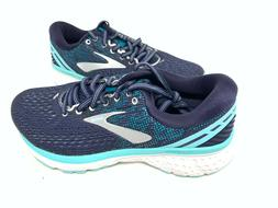 NEW! Brooks Women's Ghost 11 Running Shoes Navy/Blue WIDE #1