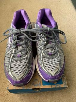 New Brooks Womens Addiction 11, purple/gray  Running Shoes S
