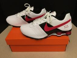 New! Womens Nike Shox Deliver Leather Running Shoes. Size 8.
