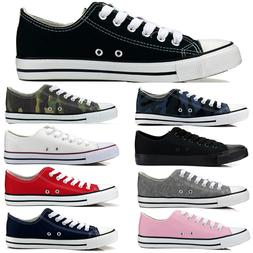 New Womens Sport Shoes Low Top Canvas Sneakers All Star Size