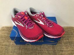 NIB Brooks 120277 Women's Ghost 11 Grey/Blue & Pink/Silver R