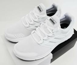 NIB ADIDAS Men's Galaxy 4 Pure White Low Top Sneakers Tennis