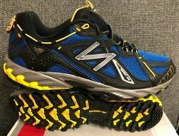NIB Mens NEW BALANCE MT610BL Blue/Yellow Trail Running Athle