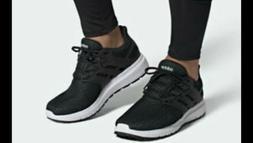 NIB Adidas Ultimashow Mens Running Shoes Black/ White Free S