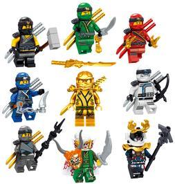 LEGO NINJAGO MINIFIGURES SETS ZANE COLE NYA KAI JAY GOLDEN D