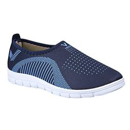 NIUJIN Men's Running Shoes Fashion Breathable Sneakers Mesh