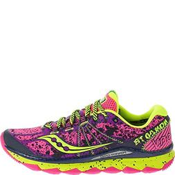 Saucony Women's Nomad TR Trail Running Shoe, Pink/Purple, 5
