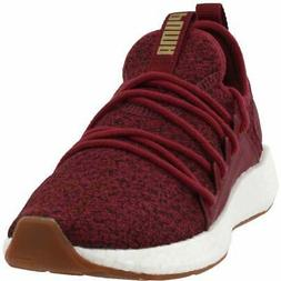 Puma Nrgy Neko Knit  Casual Running Neutral Shoes - Burgundy