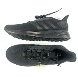 NWT Adidas Mens Duramo 9 Course A Pied Black Running Shoes B