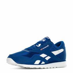 Reebok Nylon Croyal Royal Blue White Mens Running Shoes Snea