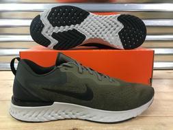 Nike Odyssey React Running Shoes Medium Olive Green Black SZ