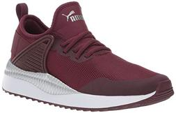 PUMA Women's Pacer Next Cage Sneaker, fig Aged Silver, 8 M U