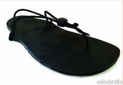 PaleoShoes Minimalist Running Sandals/Shoes - Black All-Weat