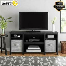 Mainstays Parsons Cubby TV Stand Holds Flat Screen TVs Up to