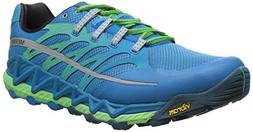 Merrell Men's All Out Peak Trail Running Shoe, Racer Blue/Br