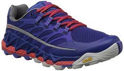 Merrell Women's All Out Peak Trail Running Shoe, Royal Blue/