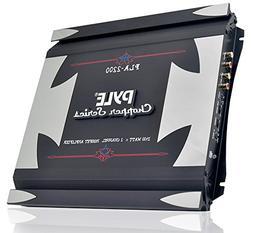 Pyle PLA2200 2-Channel 1,400-Watt Bridgeable Mosfet Amplifie