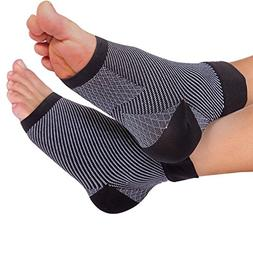 Bitly Compression Foot Sleeves for Men & Women  - BEST Plant