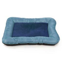 PETMAKER Plush Cozy Pet Crate/Pet Bed, X-Large, Blue