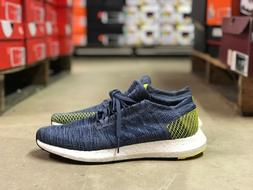 Adidas Pureboost Go Mens Running Shoes Blue/White/Volt AH232