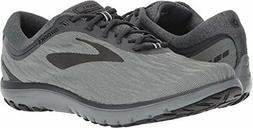 Brooks Men's PureFlow 7 Grey/Grey/Black 11 D US