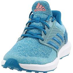 adidas Girls' Rapidarun Running Shoe, Energy Aqua/Sun Glow/M