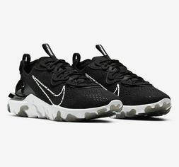 Nike React Vision Running Shoes Black White CD4373-006 Men's