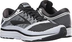 Brooks Men's Revel White/Anthracite/Black 8.5 D US