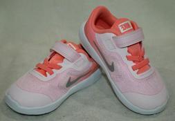Nike Revolution 3  Artic Pink/Silver Girl's Toddler Running